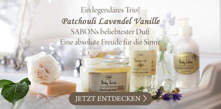Patchouli Lavender Vanilla Produkte: