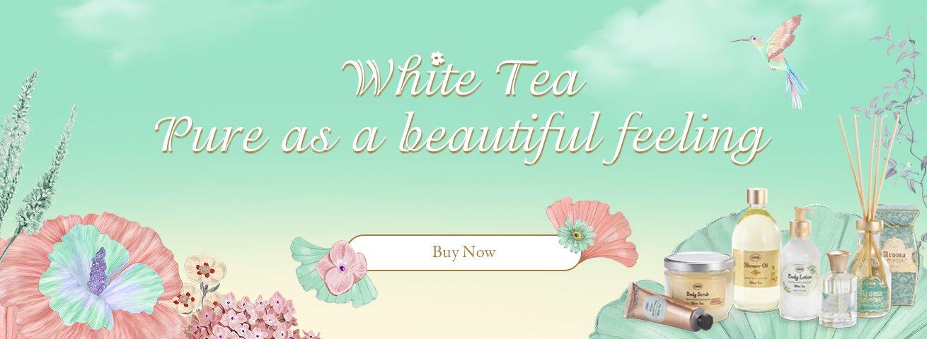 Sabon White Tea Collection:
