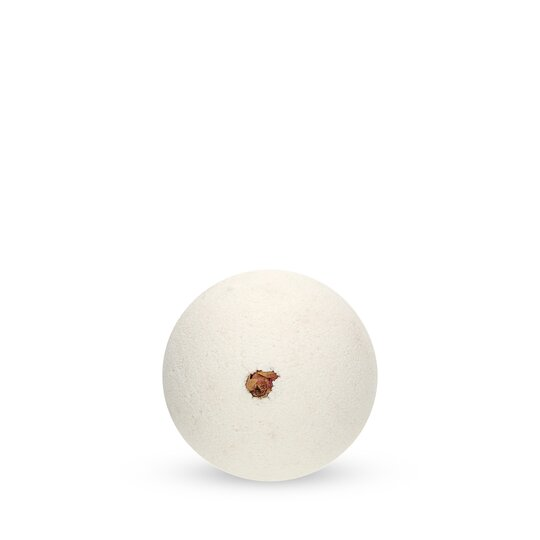 Bath Ball Vanille with Rose Flower