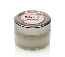 Mini Body Scrub 60g Jar Green Rose