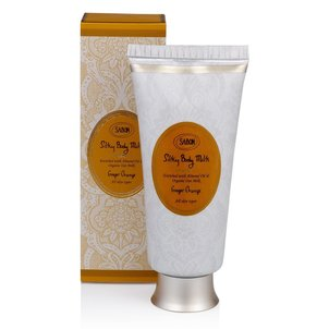 NEW Silky Body Milk Tube Ginger Orange