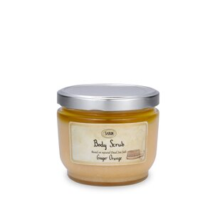 Shower Oil Body Scrub L Ginger Orange
