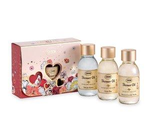 Valentine Gift Set Shower Oil