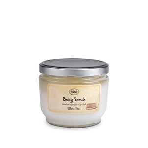 Large Body Scrub White Tea