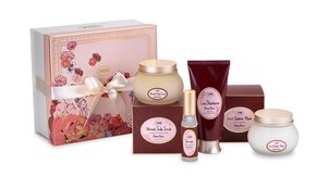 Hair Care Valentines Gift Set Green Rose M