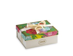 Gift Boxes Logo Box Floral Bloom - S