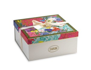 Gift Boutique Logo Box Floral Bloom - L